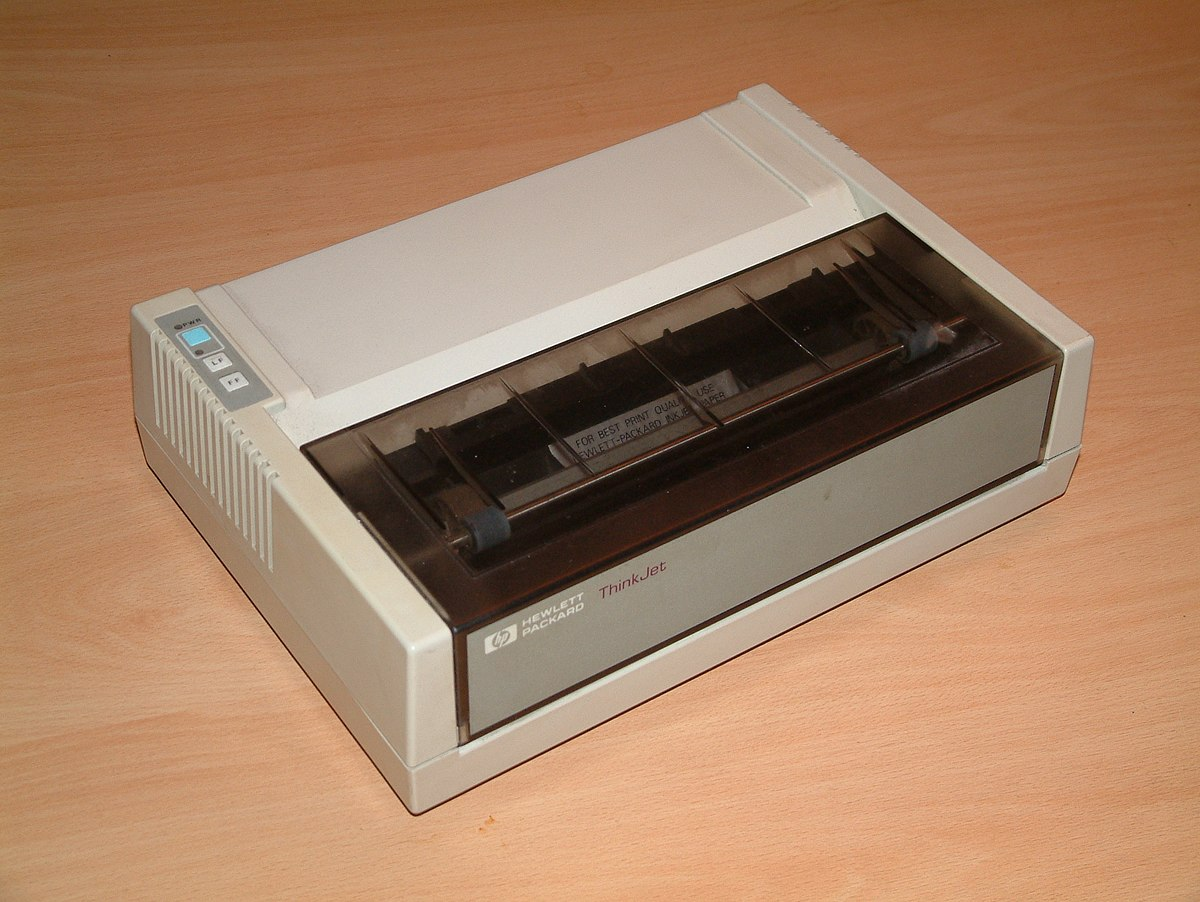 Inkjetprinter Wikipedia
