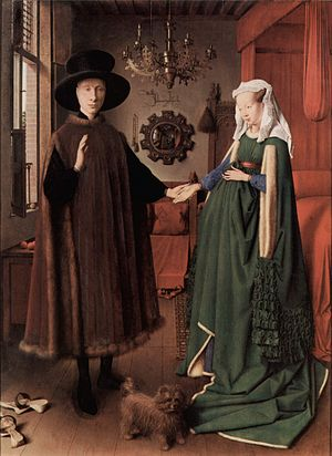 Untitled, known in English as The Arnolfini Po...