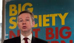 Michael Gove speaking at the Conservative Part...
