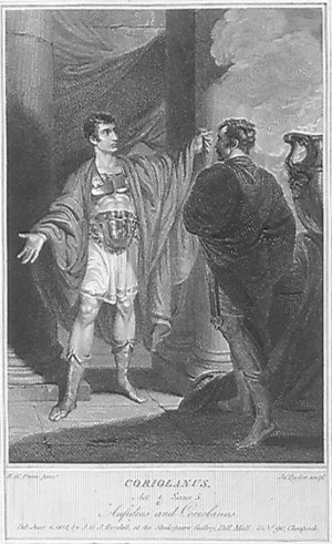 Act IV, Scene 5: Meeting of Coriolanus and Aus...