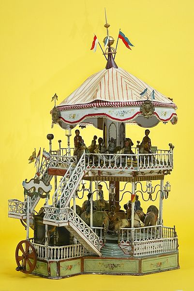 File:The Childrens Museum of Indianapolis - Marklin Carousel.jpg