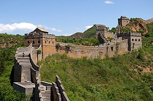 Great Wall of China near Jinshanling