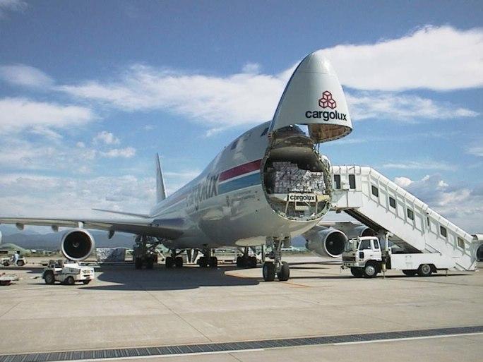 Cargolux B747-400F