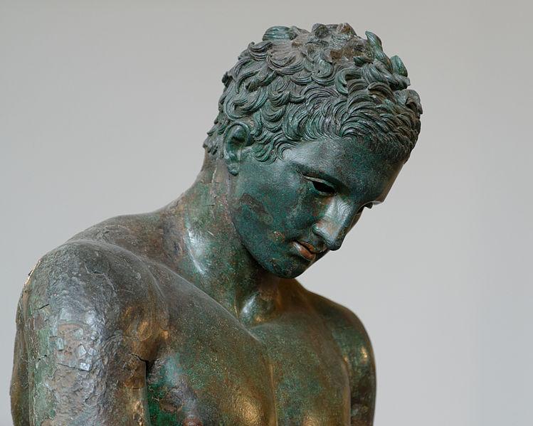 File:Croatian Apoxyomenos Louvre n11.jpg