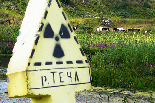 Ecodefense Mayak Exhibition 37 Techa Warning Sign