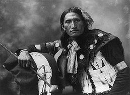 Eddie Plenty Holes, indien Sioux, 1899