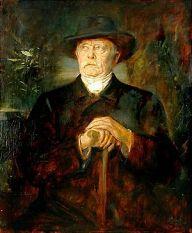 Franz von Lenbach: Portrait of Otto v. Bismarc...
