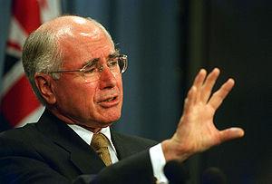 Australian Prime Minister John Howard responds...