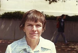 Mathematician Julia Robinson in 1975