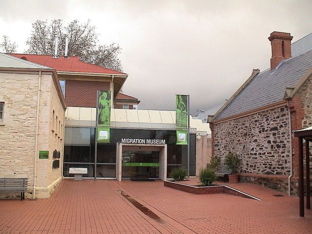 Migration Museum, Adelaide - entrance
