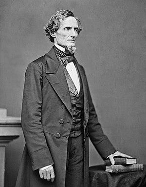 Jefferson Davis, Präsident der CSA Deutsch: 18...