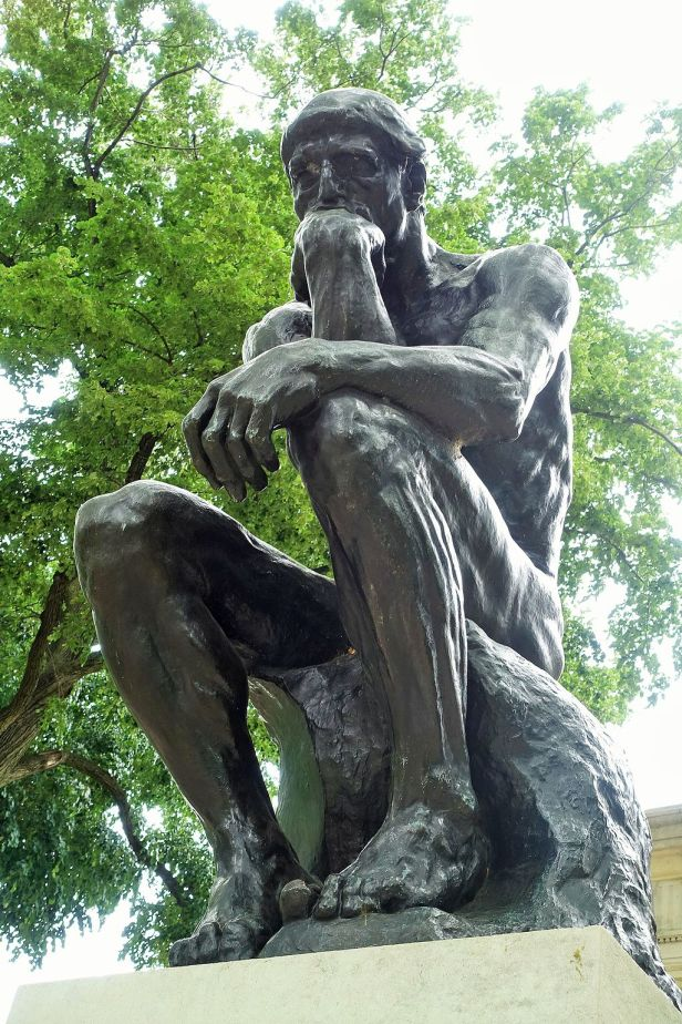 Rodin Museum - Joy of Museums - The Thinker 2