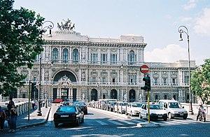 """Italiano: Il Palazzo di Giustizia (detto """"..."""