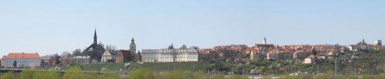 Stare Miasto w Sandomierzu – panorama