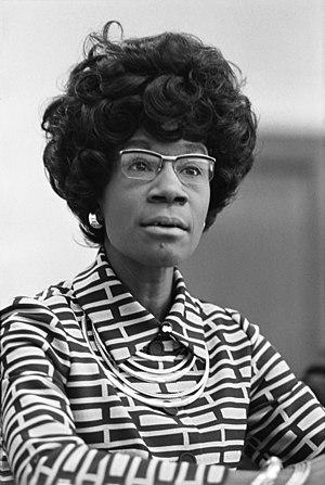 Shirley Chisholm, future member of the U.S. Ho...