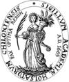 Seal of the University of Kiel