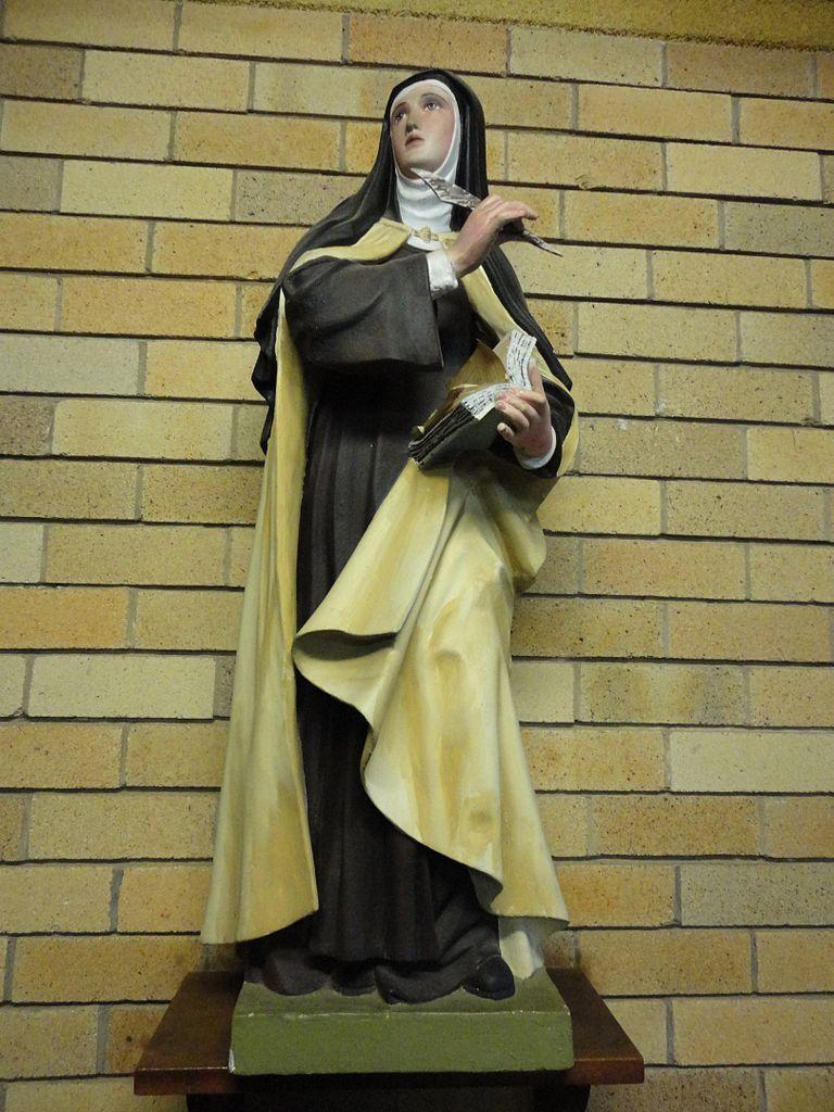 Therese Avila Statue Saint