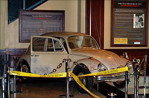 Ted Bundy's 1968 VW Beetle.