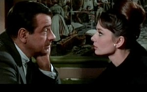 Screenshot of Walter Matthau and Audrey Hepbur...