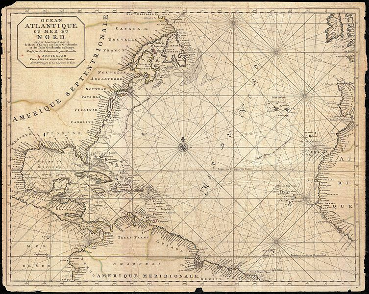 File:1683 Mortier Map of North America, the West Indies, and the Atlantic Ocean - Geographicus - Atlantique-mortier-1693.jpg