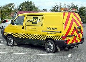 AA van, Bristol, England