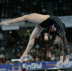 English: Cătălina Ponor at 2007 World Artistic...