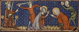 Martyrdom of Sts Chrysanthus & Daria