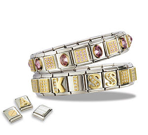 English: Composable Bracelets