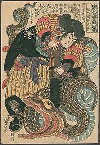 Jiraiya, ninja and title character of the Japa...