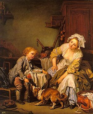 Greuze, Jean-Baptiste - The Spoiled Child - lo...