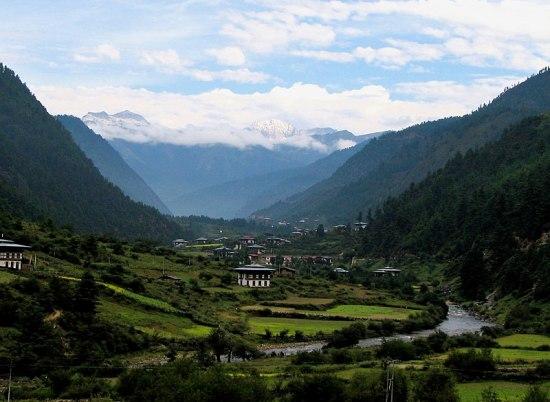 bhutan, valley
