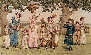 May Day by Kate Greenaway. Image from http://e...