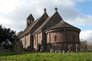 English: Kilpeck church The church is dedicate...