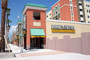 New Barnes & Noble, at UCF, taken 8/12/07