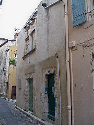 Français : Maison natale de Michel de Notredam...
