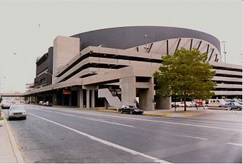 Market Square Arena, Indianapolis, June 1988.