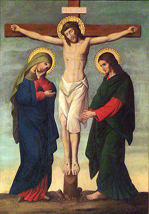 Crucifixion, part of a series depicting the st...