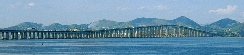 Image of the Rio-Niteroi Bridge