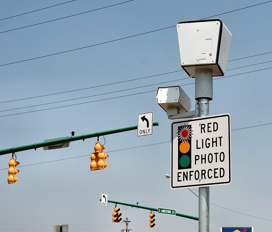 red light camera in nj