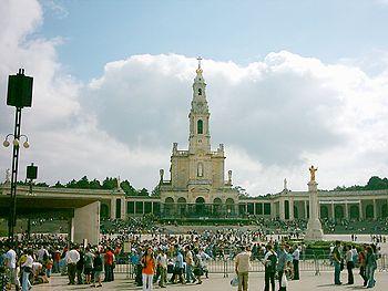 Vista geral do Santuário