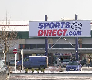 English: Sports Direct - Crown Point Retail Park