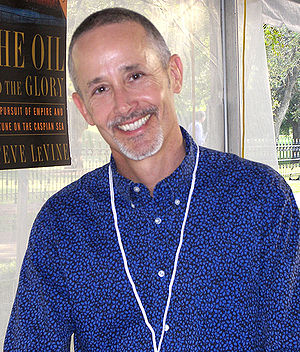 Steven Saylor at the 2007 Texas Book Festival,...