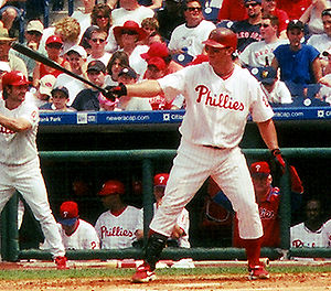 Jim Thome with the Philadelphia Phillies in 2005