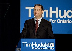 English: Tim Hudak.