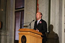 Pavel Richter bei der Google Opening Reception in der Library of Congress of the United States. CC-BY-SA. Rock drum