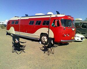 1941 Flxible Motor Home