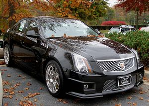 2009-2010 Cadillac CTS-V photographed in Green...