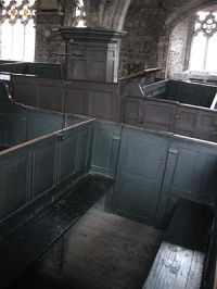 Box pews, Holy Trinity, York