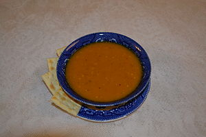 English: Butternut Squash Soup