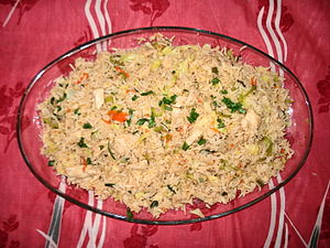 English: Chinese Fried Rice